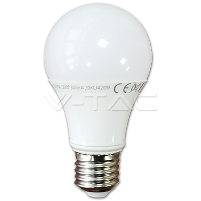 LED КРУШКА Е27 15W 6000K A60 V-TAC
