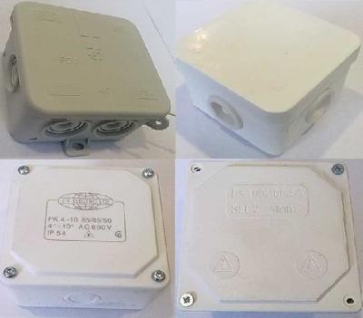 Конзоли и Разклонителни кутии - Разклонителни кутии за външен монтаж