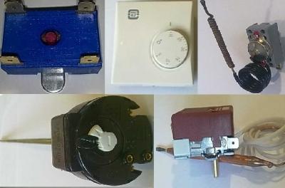 Електроматериали - Терморегулатири и защити