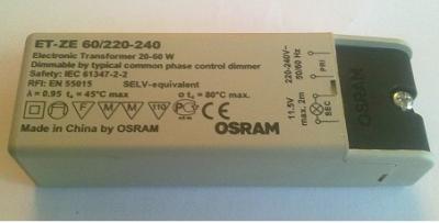 Трансформатор 60W OSRAM ET-ZE