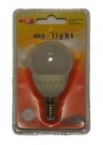 LED Лампа 3W E14 220V 6000K EKO-LIGHT