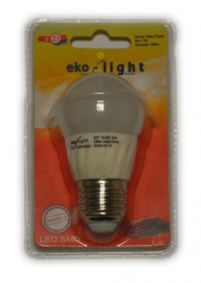 LED Лампа 3W E27 220V 6000K EKO-LIGHT