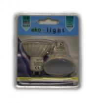 LED Лампа 5W GU10 220V 3000K EKO-LIGHT