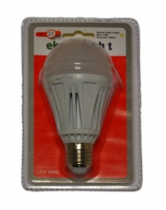 LED Лампа 12W E27 220V 3000K EKO-LIGHT