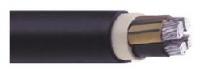 Силови за ниско напрежение - NAYY-силов кабел с алуминиеви тоководещи жила