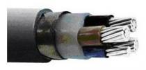 Силови за ниско напрежение - САВБТ-силов кабел с бронировка и алуминиеви тоководещи жила