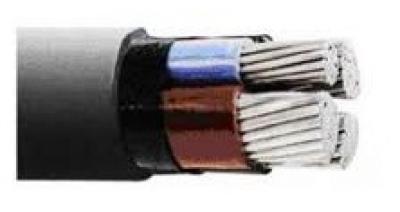 Силови за ниско напрежение - САВТ-силов кабел с алуминиеви тоководещи жила