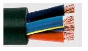 ШКПЛ/Т - Гумиран кабел ШКПЛ 5х2.50