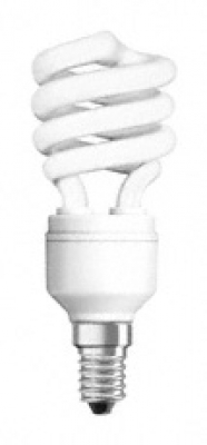 OSRAM - Енергоспестяваща лампа 11W E14 спирала OSRAM