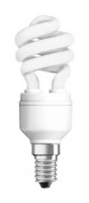 OSRAM - Енергоспестяваща лампа 8W E14 спирала OSRAM