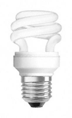 OSRAM - Енергоспестяваща лампа 8W E27 спирала OSRAM