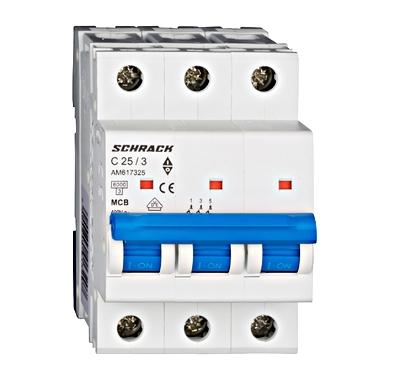 Автоматични предпазители 3P AMPARO