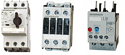 Защита и управление на електродвигатели