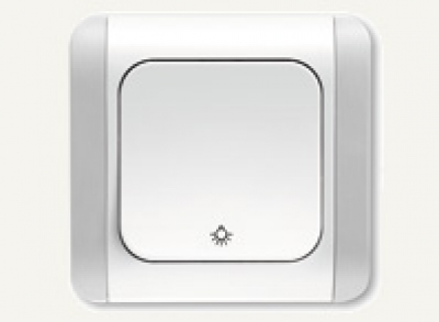 Карделен - Карделен лихт бутон бял