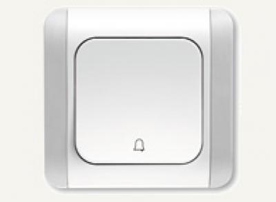 Карделен - Карделен звънчев бутон бял