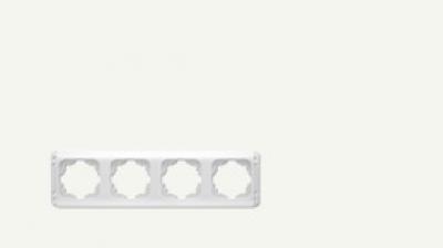 Карделен - Карделен рамка-4на бяла