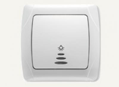 Кармен Бял - Кармен лихт бутон + сигнал бял