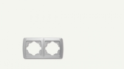 Кармен Бял - Кармен рамка-2на хоризонтална бяла