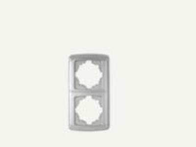 Кармен Бял - Кармен рамка-2на вертикална бяла
