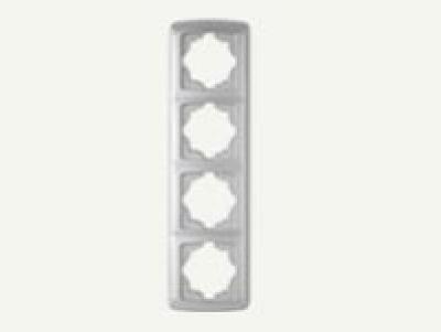Кармен Бял - Кармен рамка-4на вертикална бяла