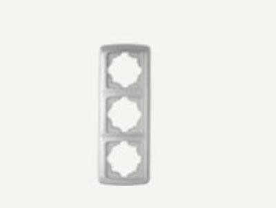 Кармен Бял - Кармен рамка-3на вертикална бяла