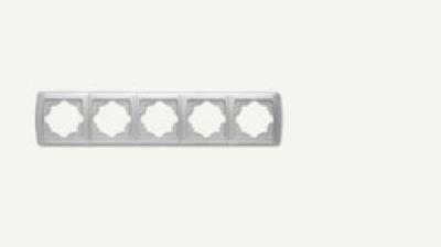 Кармен Бял - Кармен рамка-5на хоризонтална бяла