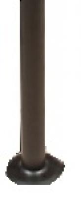 Парково и Градинско - Метален стълб 80см. черен