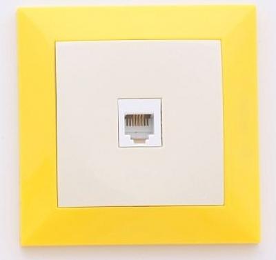 Лекса - LM60 Рамки - Лекса - LM60 рамка жълта