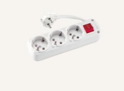 Разклонители VIKO - Разклонител 3ка с 2м. кабел + ключ
