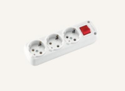 Разклонители VIKO - Разклонител 3ка с ключ без кабел