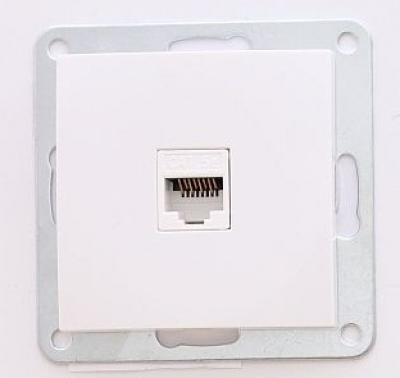 Лекса - LM60 модули бял - Лекса - LM60 бял RJ45 LAN